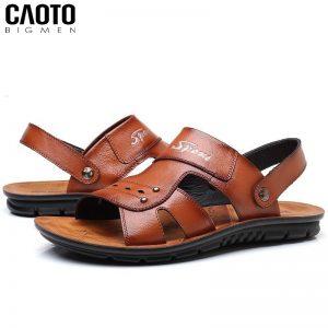 Sandal Fashion Da Nâu Big size Thời Trang