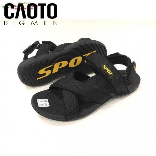 Dép Sandal Sport Varserty Màu Đen Big Size