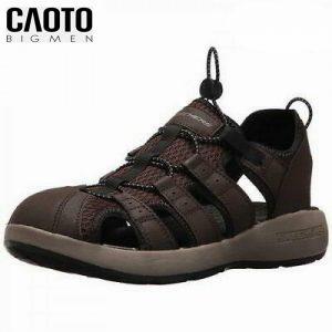 Giày Sandal Big Size Nam Skechers Brown