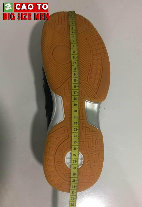 Giày Cầu Lông Sport Đẳng Cấp Trắng Đen Big Size 3