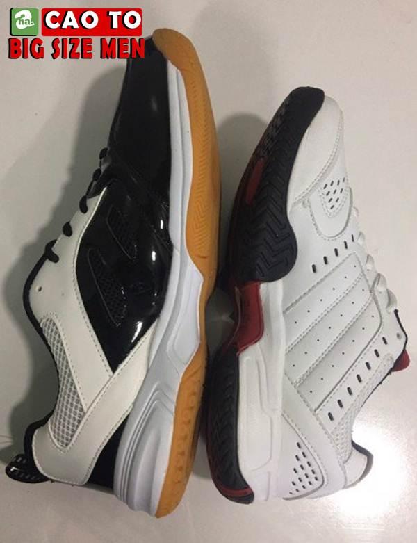 Giày Cầu Lông Sport Đẳng Cấp Trắng Đen Big Size 6