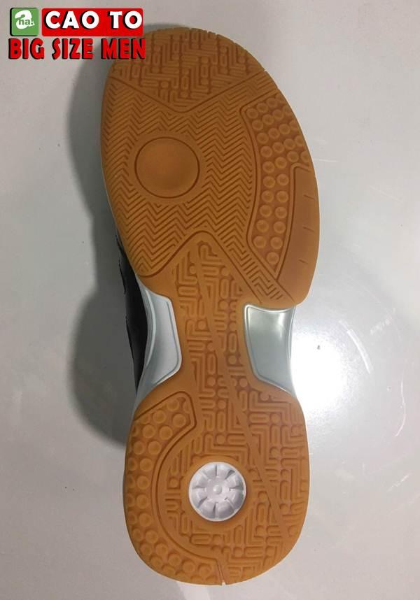 Giày Cầu Lông Sport Đẳng Cấp Trắng Đen Big Size 8