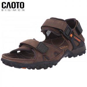 Giày Sandal Allrounder Big Size Brown Chuẩn Mens