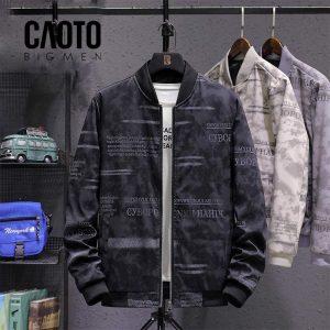 Áo khoác big size Hahik đen