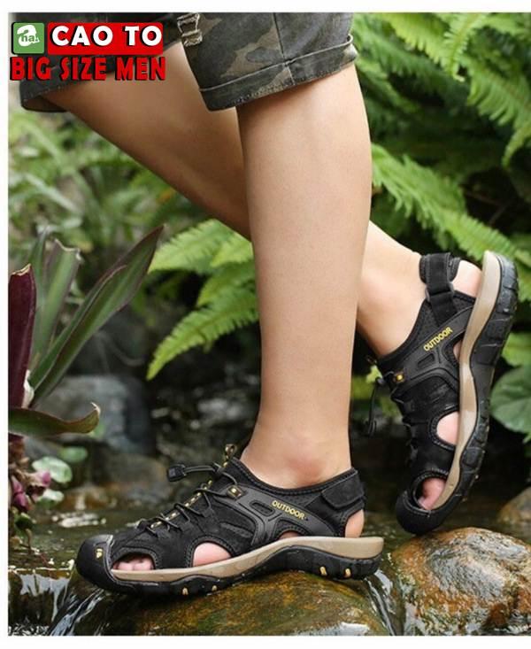 giày sandal bít mũi bigsize 7