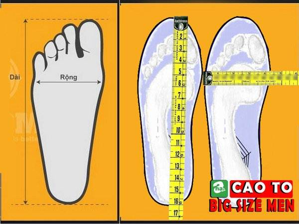 giày sandal bít mũi bigsize 6