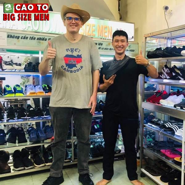 Giày Sandal Bít Mũi Outdoor Màu Nâu Bigsize Men 12