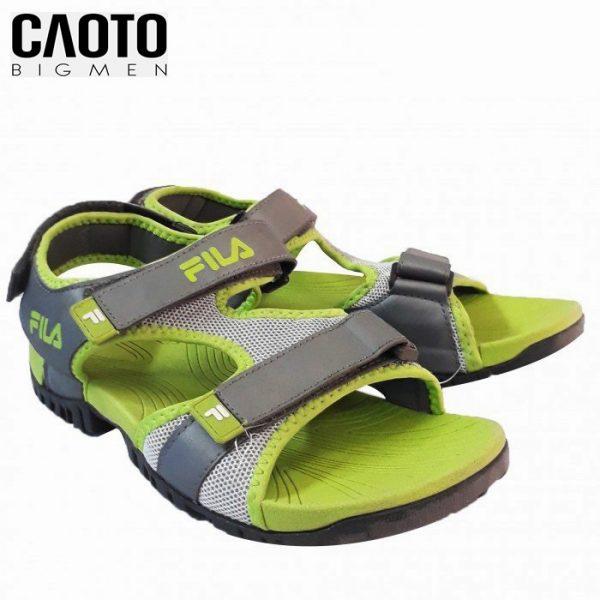 Giày Sandal Fila Xanh Chuối Size Lớn