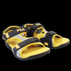Giày Sandal Big Size Fila Lớn Vàng Đen
