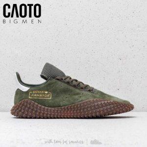 Giày Sneaker Kamanda Xanh Rêu Big Size