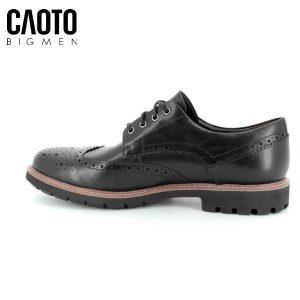 Giày Tây Big Size Nam Clark Batcombe Black Shose Fashion Modern