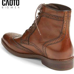 Giày tây cao cổ big size joop màu nâu