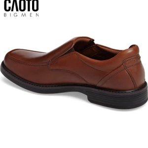 giày tây xỏ da big size stanmoc venetian màu nâu